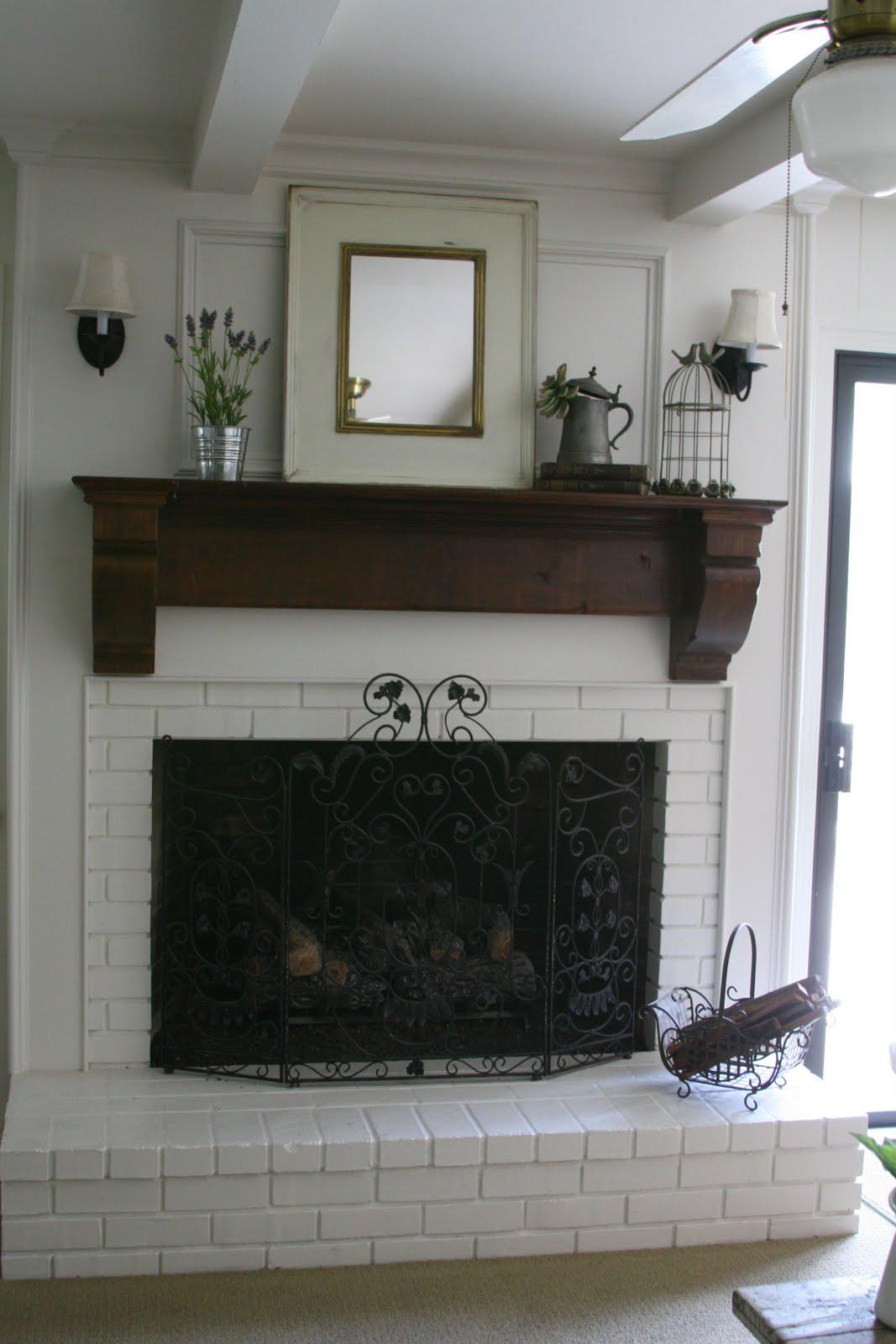 Celebrating the Ordinary: A fireplace redo