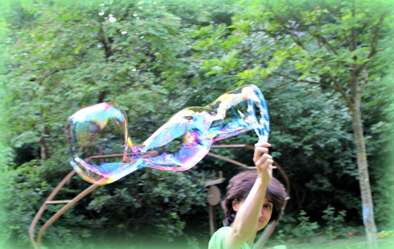 Как сделать мыльные пузыри без глицерина пошаговая 34
