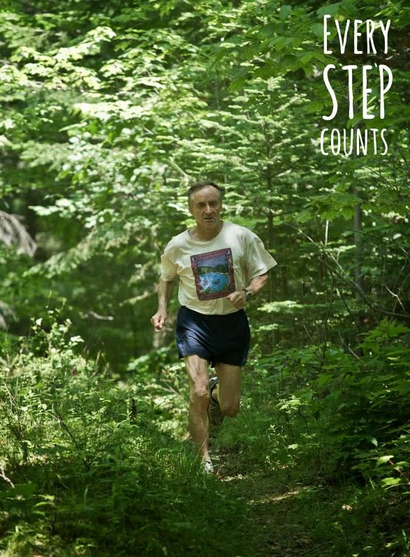 Bernd Heinrich - every step counts