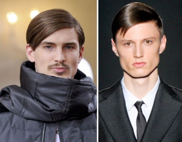 Men's Hairstyles Trends Fall/Winter 2012-2013 Catwalk