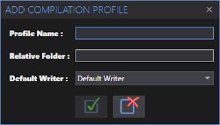 Add Compilation Profile Window