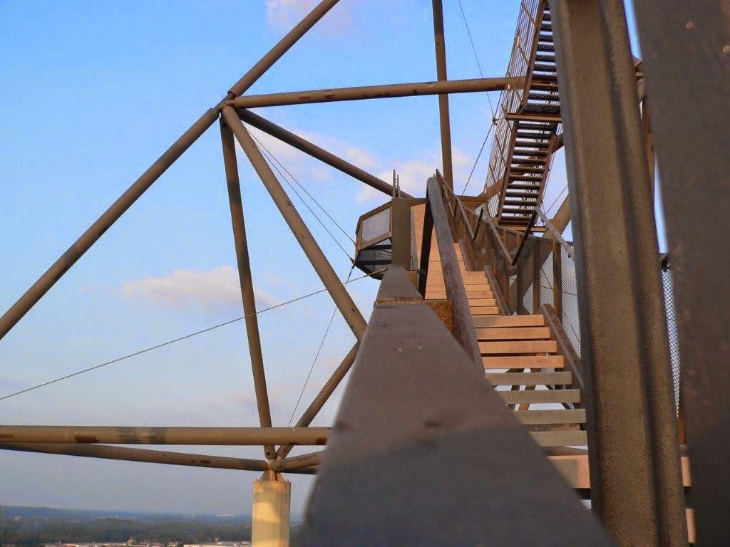 Tetraeder Bottrop Landmarke Halde Ruhrgebiet Ruhrpott