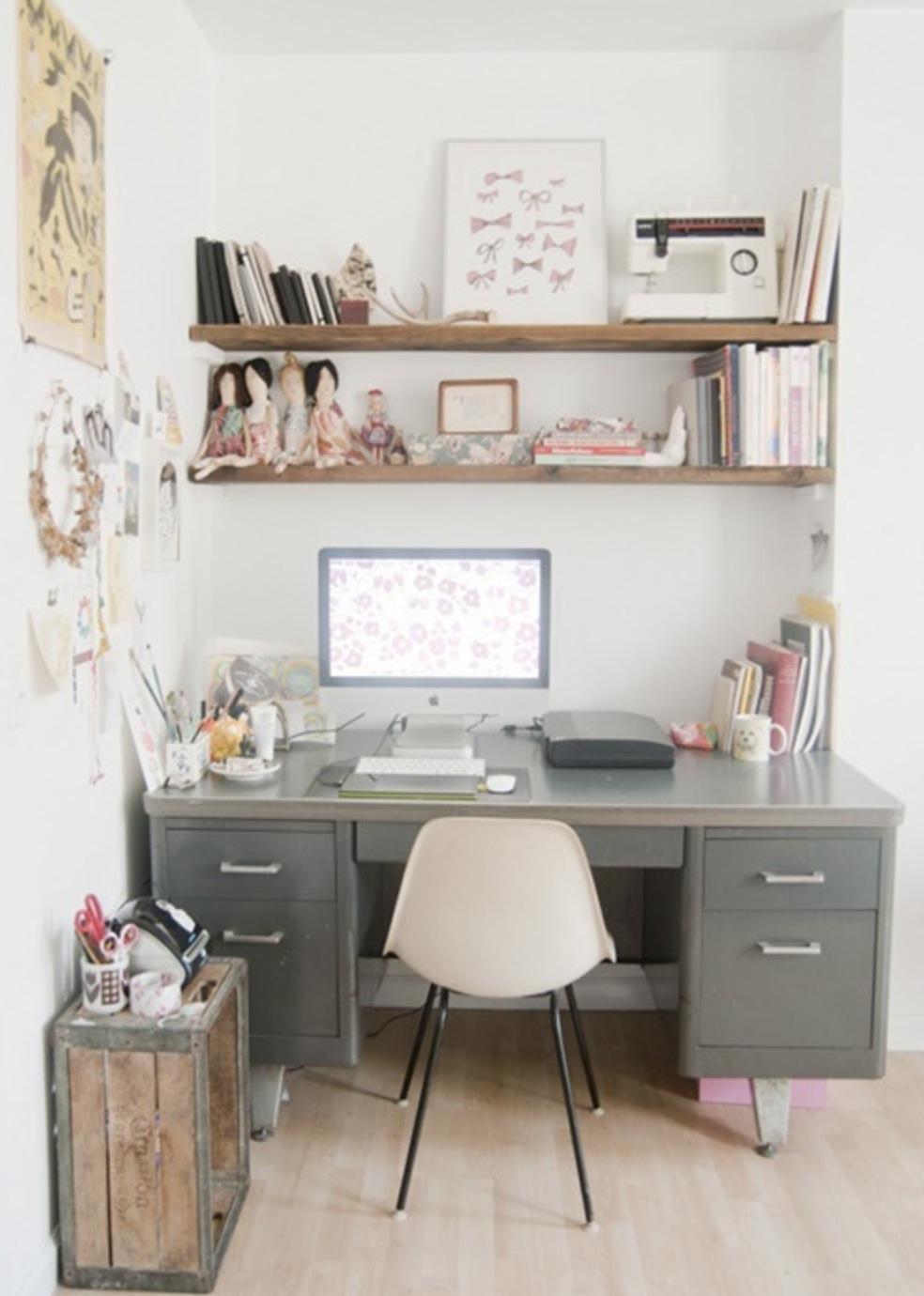 Retr and design angolo studio lavoro in casa back to - Angolo studio ikea ...