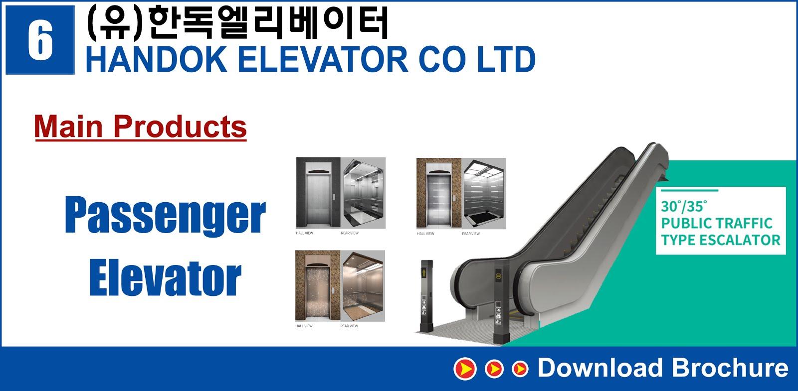 6.HANDOK ELEVATOR CO LTD