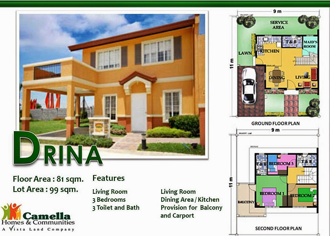 DRINA MODEL HOUSE DETAILS: