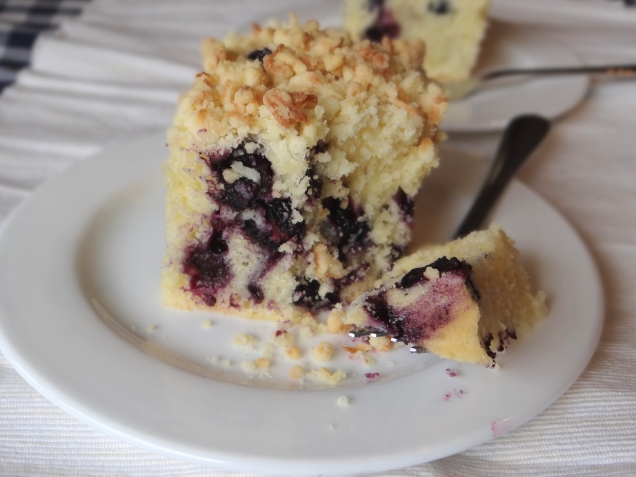 ... Bake, Eat, Write, Read: Blueberry Muffin Cake with Coconut Streusel