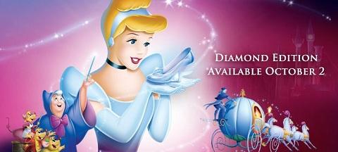 Cinderella Blu-Ray/DVD