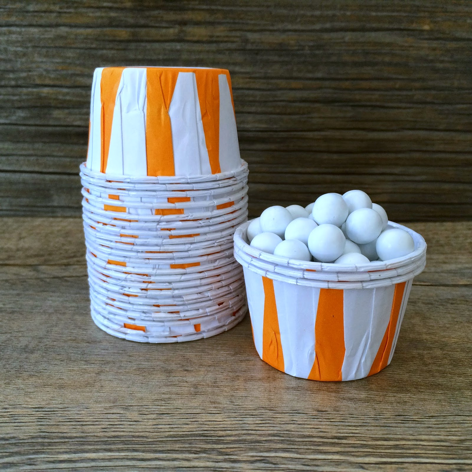 Candy Nut Baking Cups Outside the Box Papers