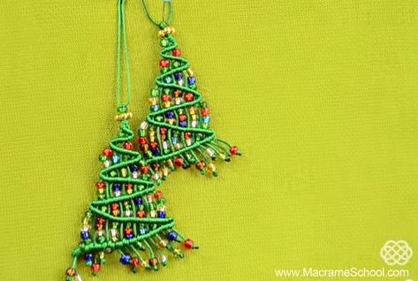 More Christmas Tree Jewelry And Ornament Tutorials The Beading