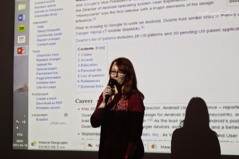 UX Faktoria Łódź, Ewelina Choroba Fotografia, kobieta, prelekcja, spotkanie