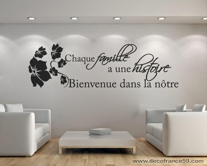 Decofrance59 vente en ligne de stickers muraux - Stickers muraux pour salon ...