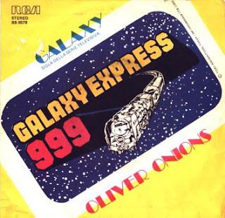45 giri Galaxy Express 999 Oliver Onions