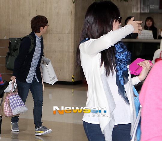 Taeyeon Yoona Airport