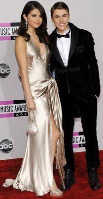 Foto de Selena Gómez y Justin Bieber en American Music Awards 2011