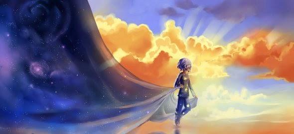 Chibionpu Nicole deviantart ilustrações fantasia surreal meiga sonhos