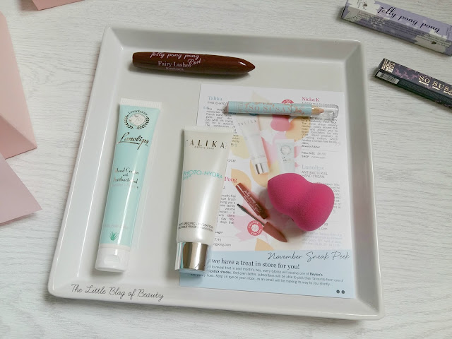 Glossybox October 2015 - Autumn Spell