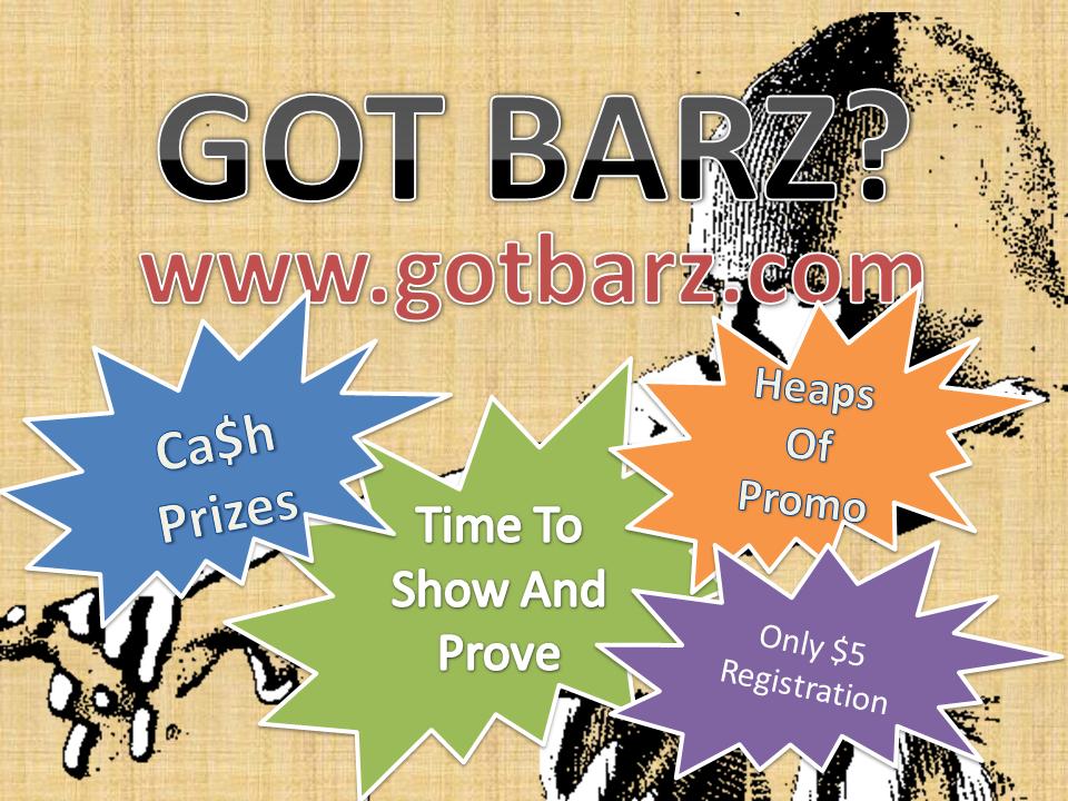 Got Barz? Competition