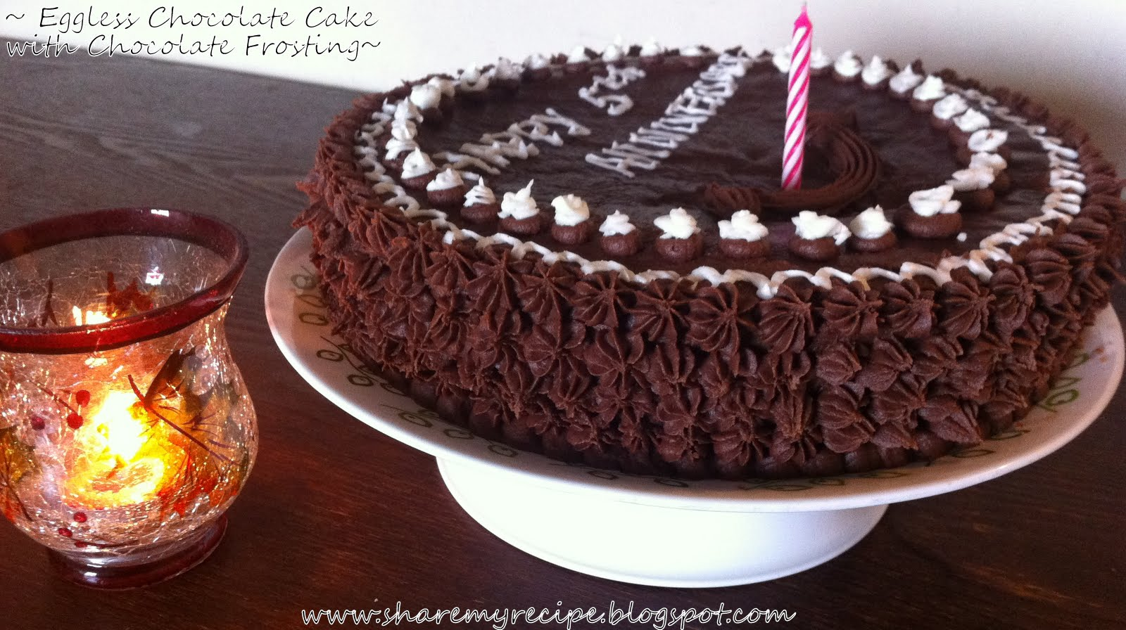 Eggless Mocha Coffee Cake
