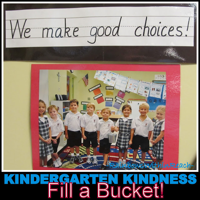 photo of: Kindergarten Bucket Filling, Positive Behavior Article