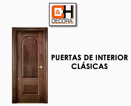 Puertas de interior clasicas en puertas y cocinas madrid - Puertas de interior en madrid ...