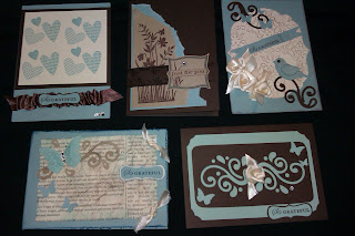 Stampin Up quick cards