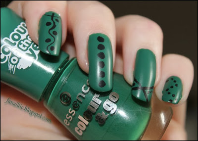 essence the green & the grunge + matt topcoat