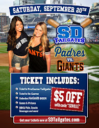 San Diego Padres All Inclusive Tailgate - 9/20