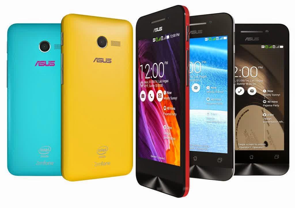 Harga Smartphone Android Asus ZenFone 4