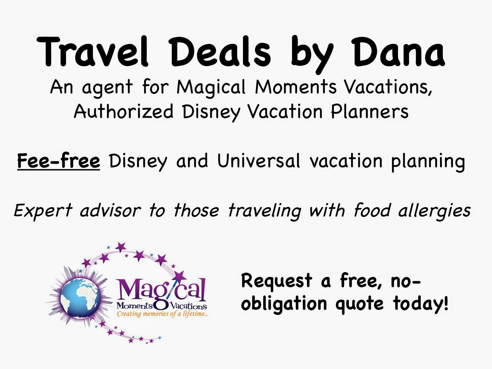 Travel Deals by Dana