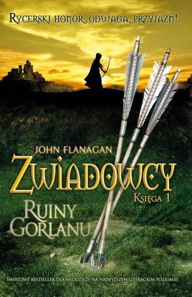 """Zwiadowcy: Ruiny Gorlanu"" John Flanagan"