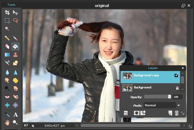 Cara Membuat Efek Salju Pada Foto