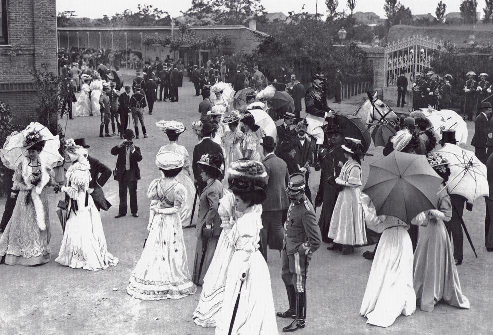 Hipódromo del Paseo de la Castellana, Madrid 1902