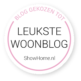 Mijn blog is laatst verkozen tot leukste woonblog!!
