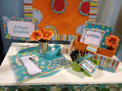 Dots on Turquoise line from Creative Teaching Press, photo from Inspired in Style