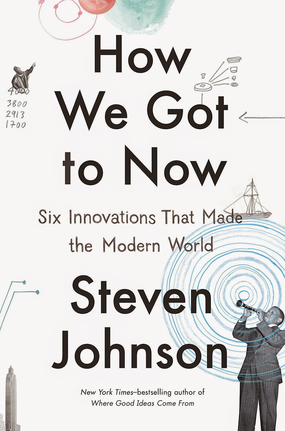 """how we got to now"" - Steven Johnson"