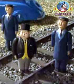 Sir Topham Hatt had some important railway news for Henry James Gordon Thomas the train and friends