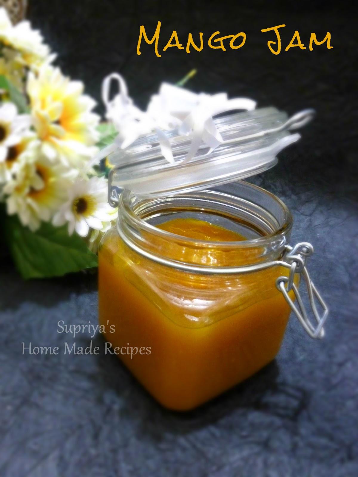 Mango Jam Recipe — Dishmaps