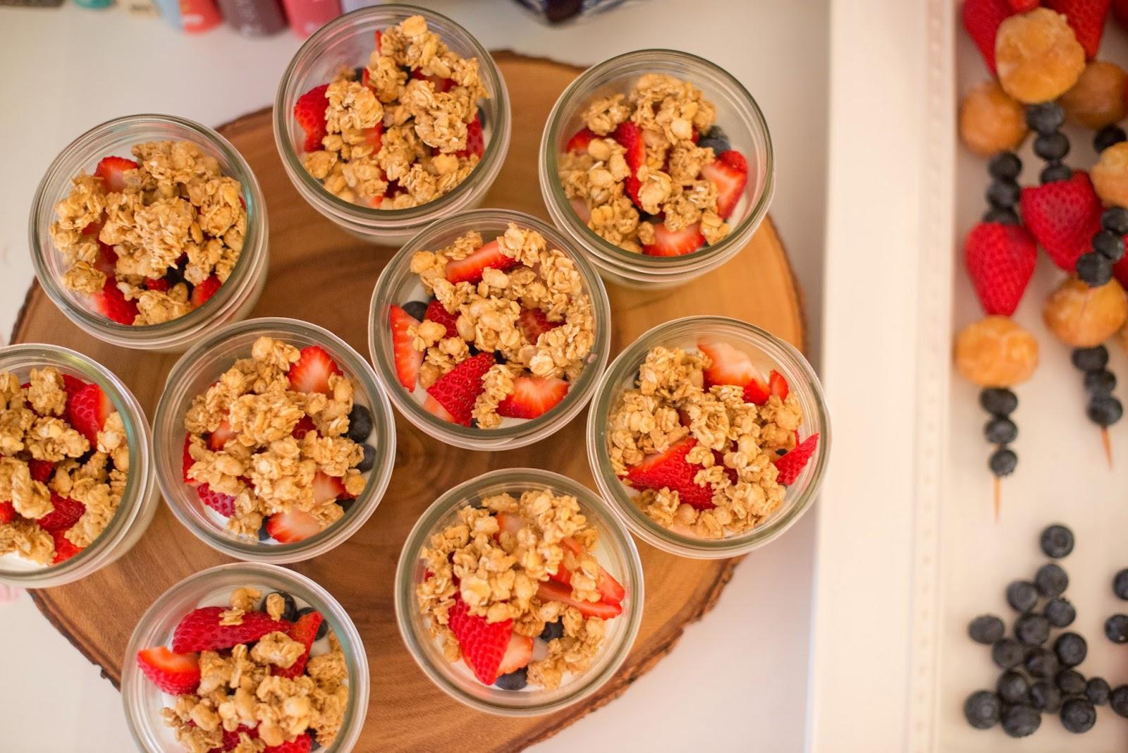 domestic fashionista: breakfast ideas from my ladies valentine's day tea
