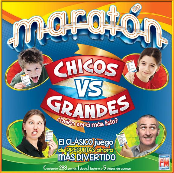 maratón juego de mesa clásico