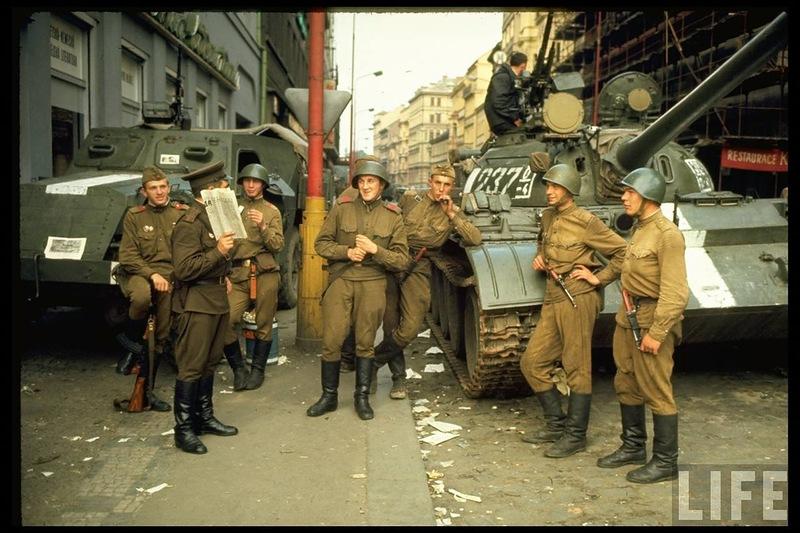 Prague of 1968 ~ vintage everyday