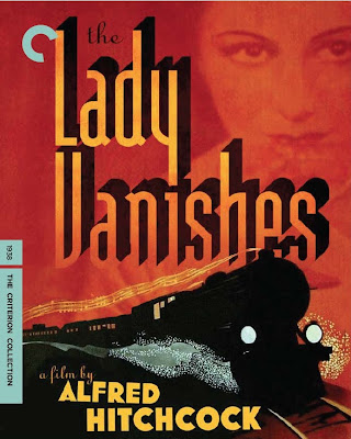 Affiche de The Lady Vanishes (Une femme disparaît) - Hitchcock