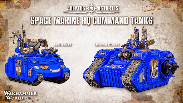Updated! Space Marine and Dark Angel Re-directs With Devastators and More