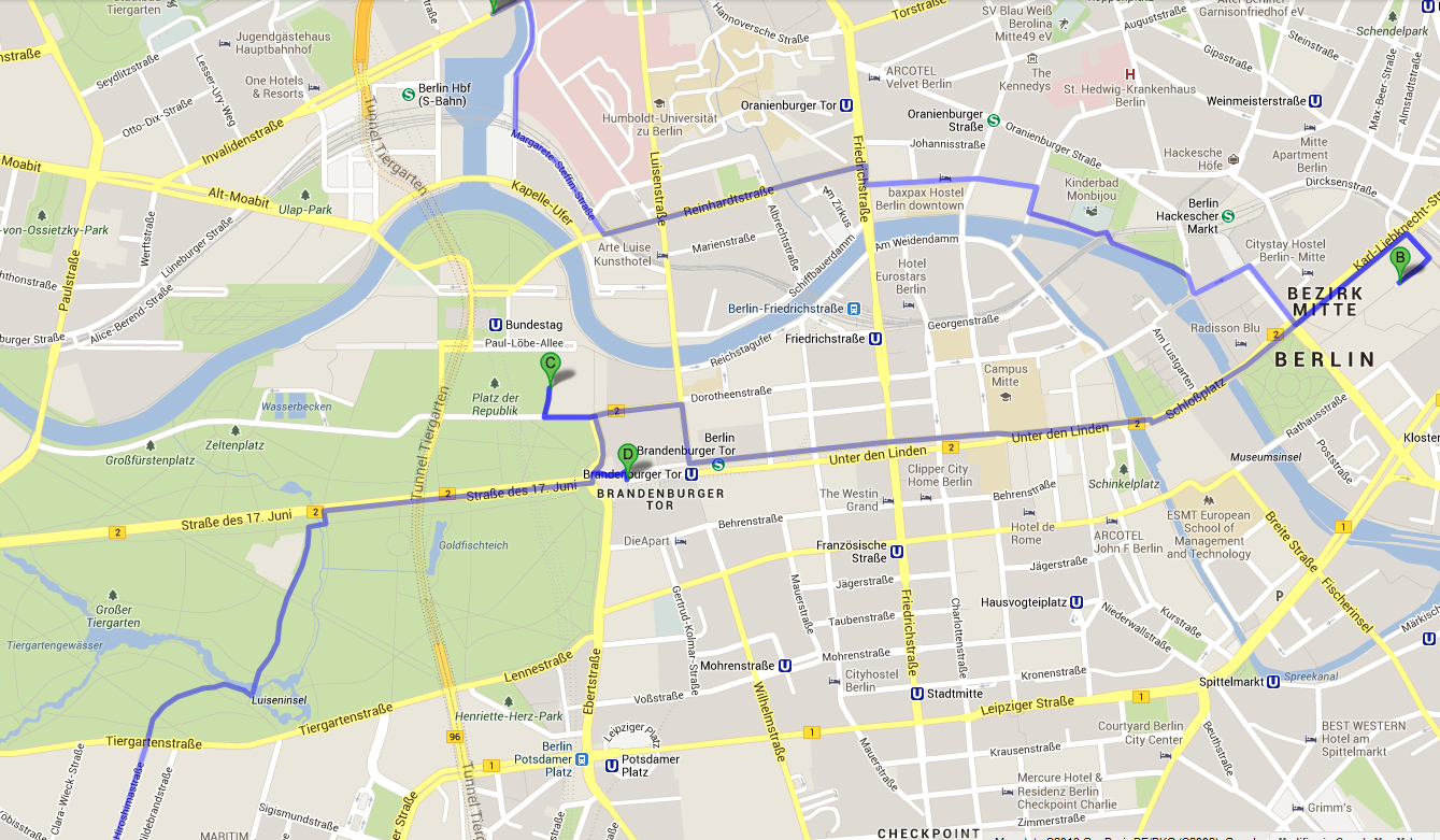 Pianta Muro Berlino : Vomito ergo rum die reise nach berlin