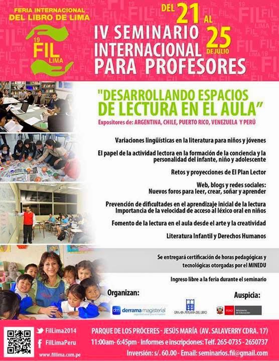 Afiche del FIL Lima
