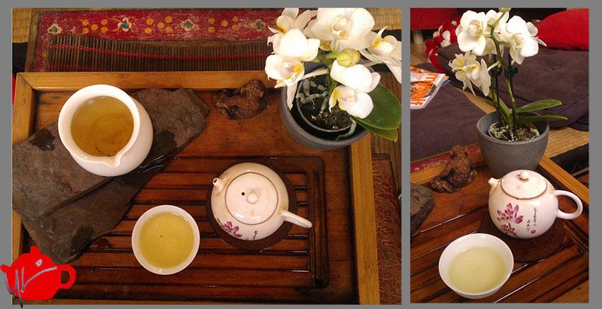 Ye Min Tea & Friends: White but not snow anymore...