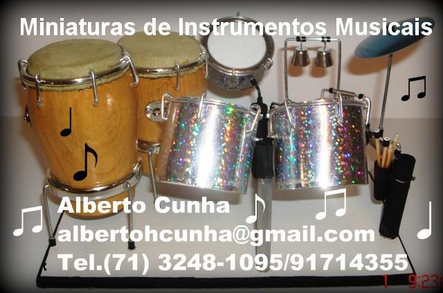Miniaturas de Instrumentos Musicais