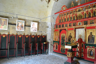 Neamt Fortress-chapel of St. Nicholas