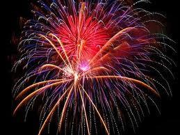 Kembang Api Tahun Baru