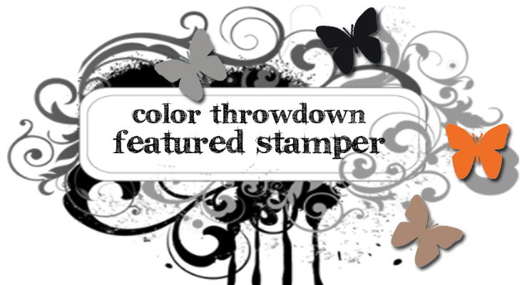 Featured stamper at Color Throwdown