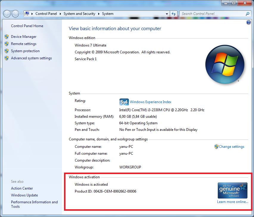 Cara Aktivasi Windows 7, Bajakan Jadi Asli/Genuine ...